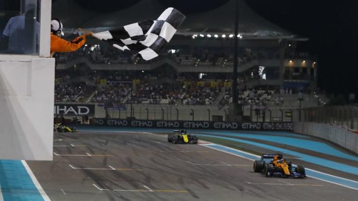 VIDEO: Sainz's epic unseen last-lap overtake on Hulkenberg