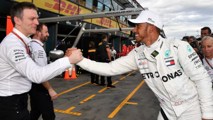 Mercedes happy despite 'f*cking sh*t' Mexican GP