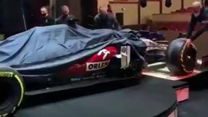 Alfa Romeo lijkt voor nieuwe kleurensamenstelling te gaan