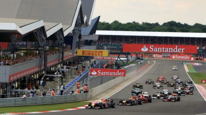Liberty Media: '1000e Grand Prix niet op Silverstone'