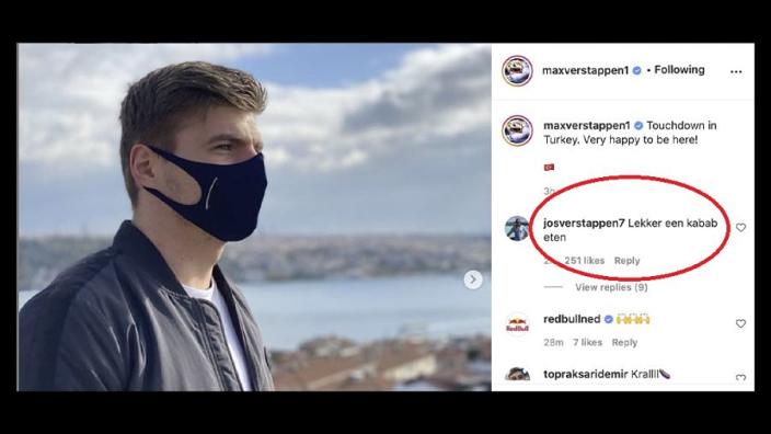 Jos Verstappen heeft goede tip voor Max na landing in Turkije