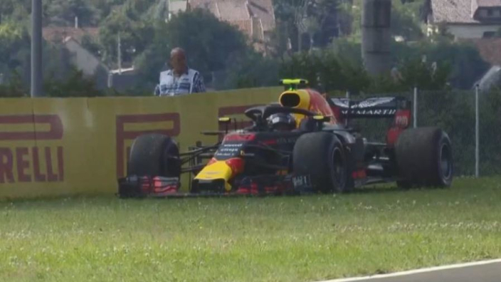 Verstappen out of Hungarian GP as Red Bull suffer ANOTHER engine failure