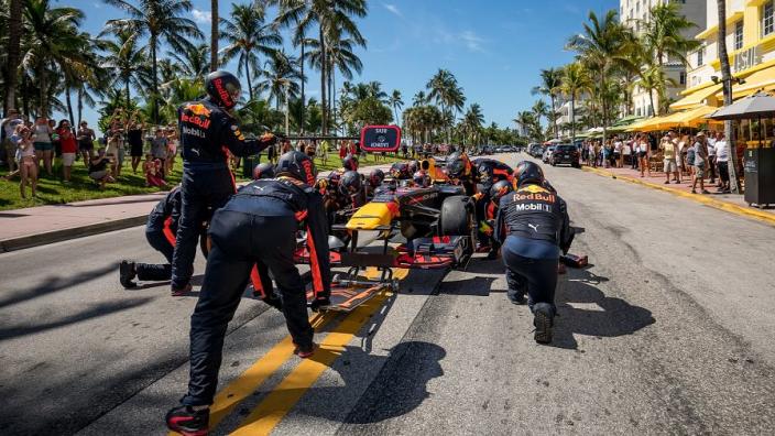 Verstappen en Pérez over Grand Prix Miami: 'Geweldige stad, kijken ernaar uit'