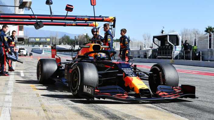 Barcelona testing: Red Bull engine fails as Kubica remains fastest