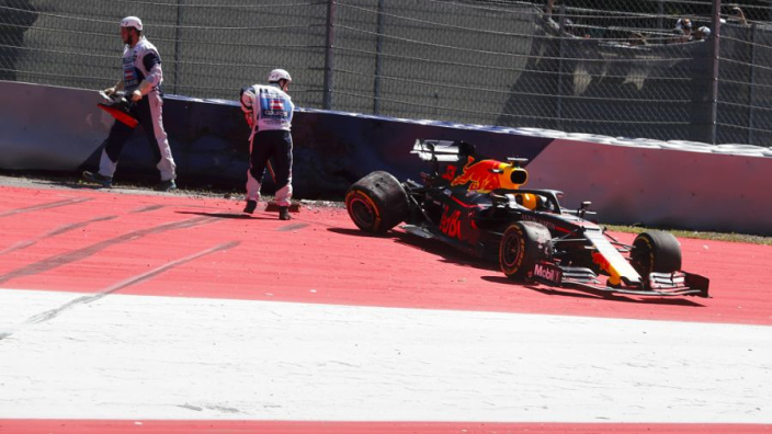 Verstappen, Bottas crash in crazy session: Austrian GP FP2 Results