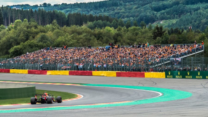 IN BEELD: De oranjegekte op Spa Francorchamps