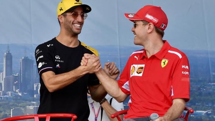"""""""Ruthless"""" Vettel also """"honest and genuine"""" - Ricciardo"""