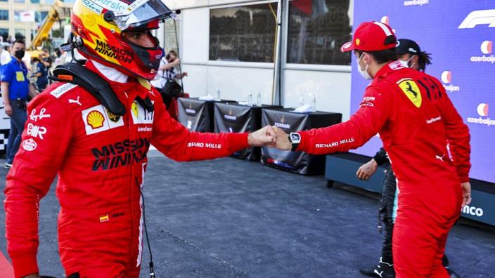 Ferrari's surprise Baku pole undermined by Sainz crash - Binotto