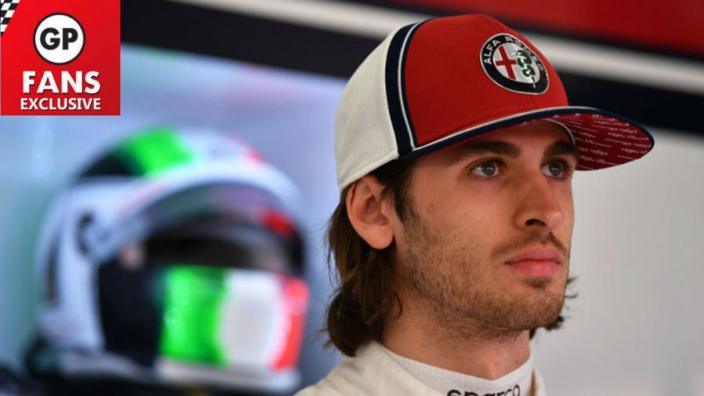 EXCLUSIEF: Giovinazzi trots om Italië weer te mogen vertegenwoordigen