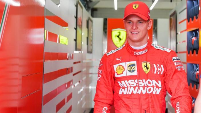 Schumacher denied dream F1 debut by Verstappen in Bahrain