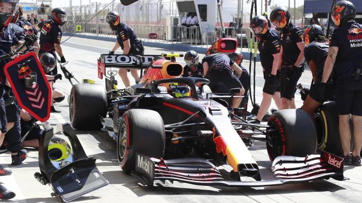 Red Bull goed vertegenwoordigd tijdens persmomenten Bahrein