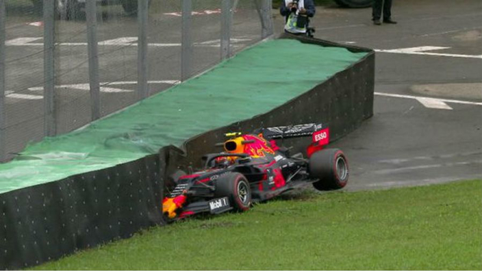 Albon crash not his fault - Red Bull