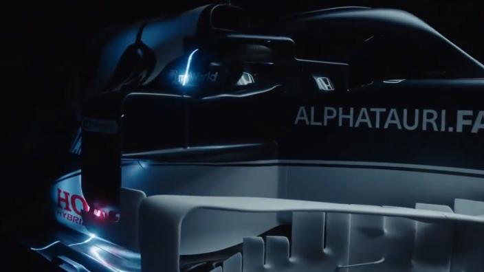 IN BEELD: AlphaTauri lanceert haar nieuwe AT02-wagen voor 2021
