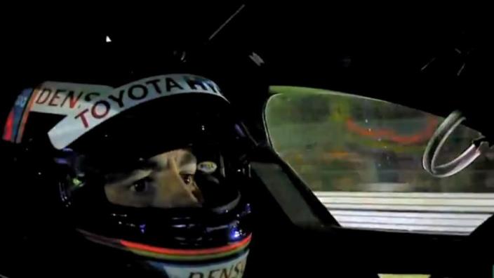 IN BEELD: Fernando Alonso achter het stuur op Le Mans