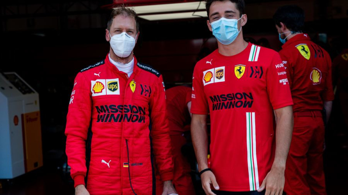 Ferrari return to the track as Vettel and Leclerc light up Mugello