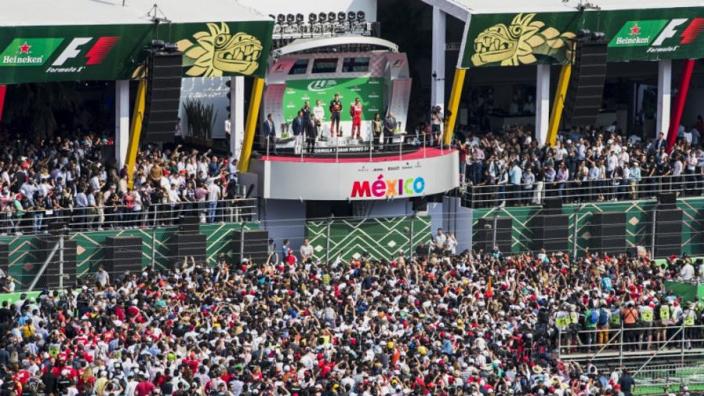 Grand Prix van Mexico pakt prijs voor vierde keer op rij
