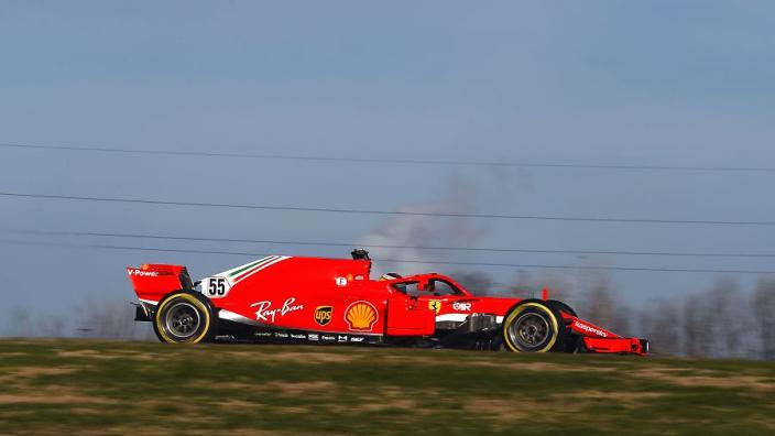 Ferrari to improve but Sainz not expecting to challenge Mercedes
