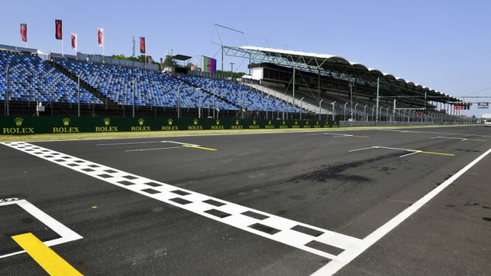 Hungarian Grand Prix: Starting grid with penalties applied