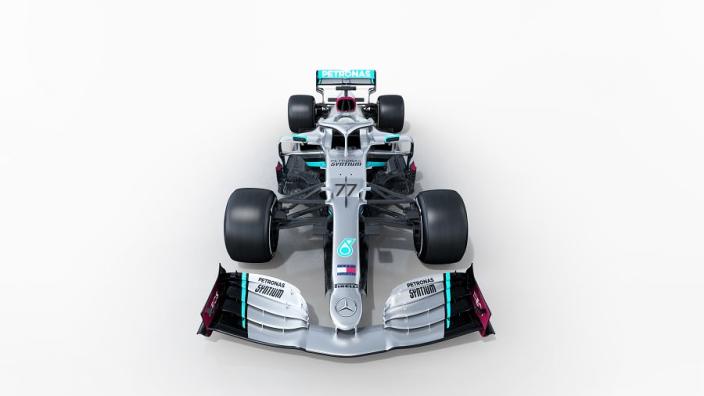 Dit is de nieuwe auto van Mercedes voor seizoen 2020