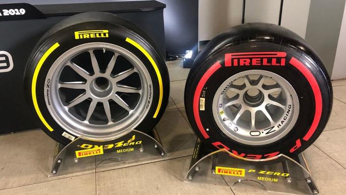Les F2 avec les pneus 18 pouces un an avant les F1