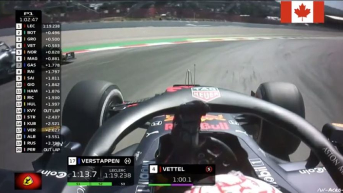 VIDEO: Verstappen and Bottas nearly crash! Penalty coming?