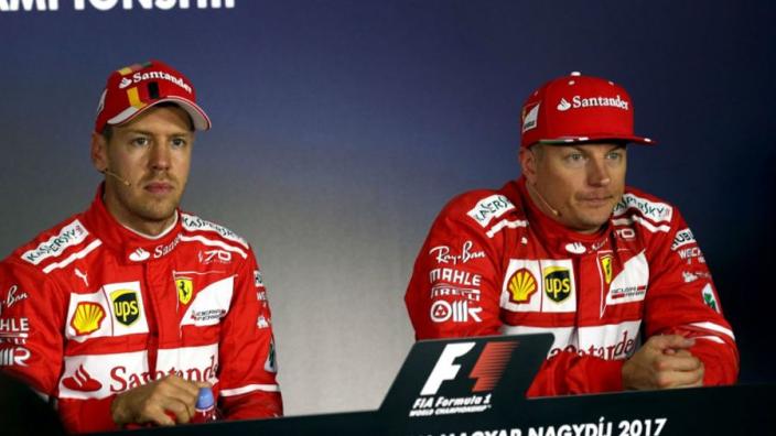 'Pointless' blaming Vettel for errors - Raikkonen