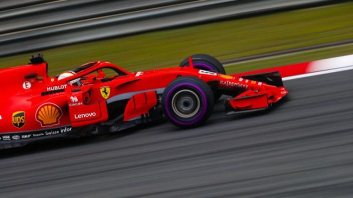 Vettel snatches China pole from Raikkonen as Ferrari shutout Mercedes
