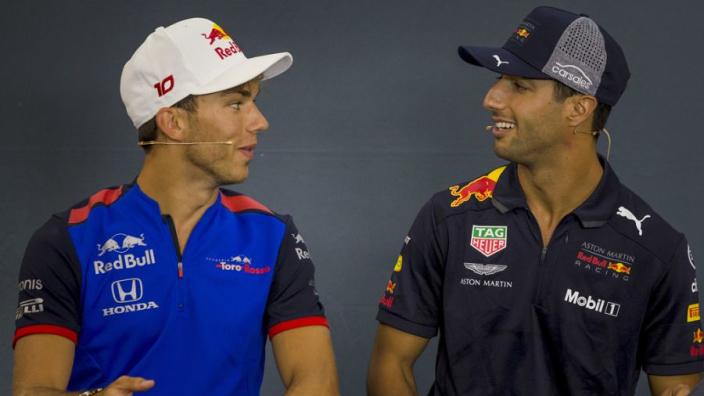 'Ricciardo en Gasly worstelen allebei vanwege onconventionele auto Red Bull'