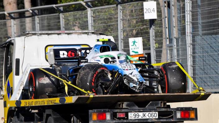 Robert Kubica: 'Crash was gevolg van overcorrectie'