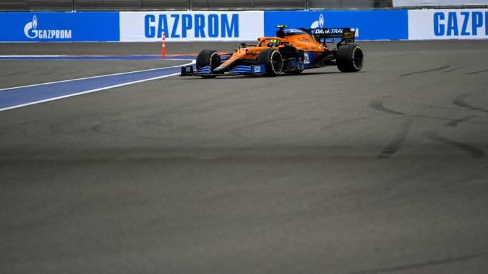 McLaren 'not seeing hard rain' cost maiden F1 win - Norris