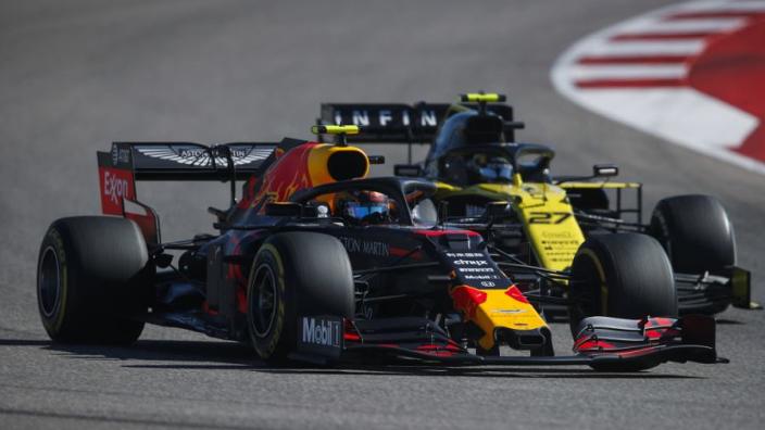 """Horner: """"Renault wil niet echt een motor leveren aan Red Bull"""""""