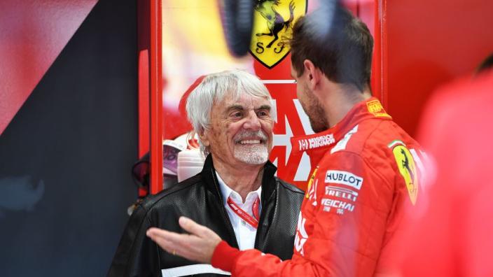 Ecclestone: 'I think F1 without Ferrari isn't at all good'
