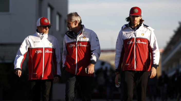 Alfa Romeo retain Raikkonen and Giovinazzi partnership for 2021