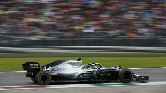 Hamilton 'dans une très bonne position' pour la course