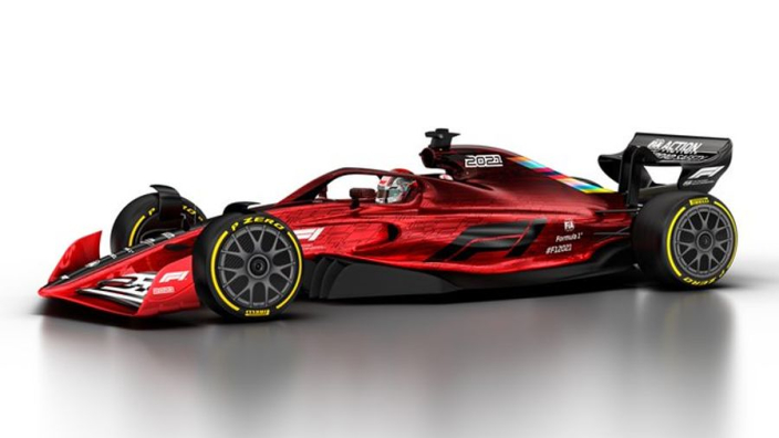 F1 reveals cars of the future as new regulations published
