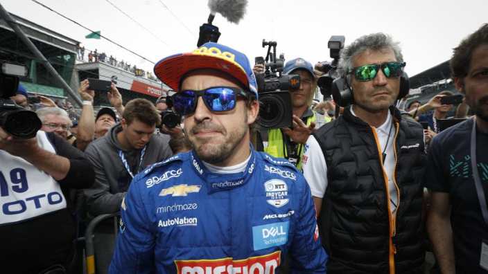 Alonso reacts to Indy 500 qualifying failure