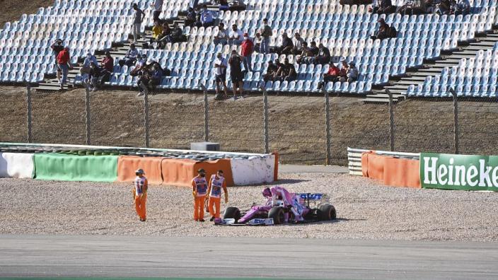 "Racing Point criticise ""ridiculous"" Verstappen after Stroll crash"