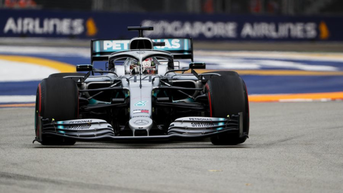 Mercedes punished by FIA for fuel error on Hamilton's car
