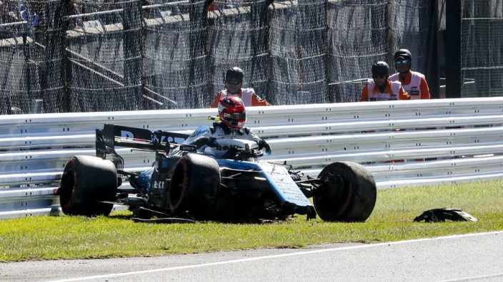 Kubica crashes in Suzuka qualifying, race in doubt