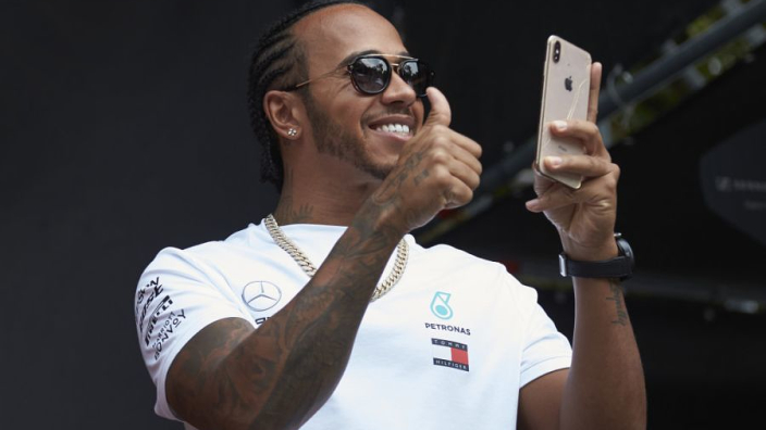 Hamilton hints at extending F1 career as records beckon