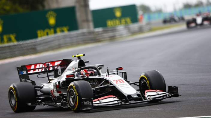 Haas under investigation for formation lap infraction