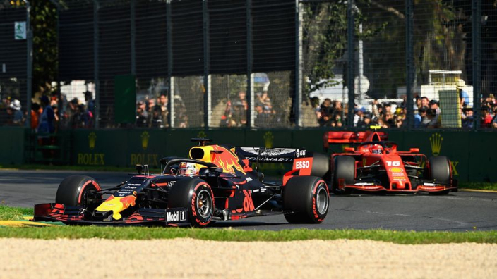 Leclerc caught off-guard by Verstappen pace