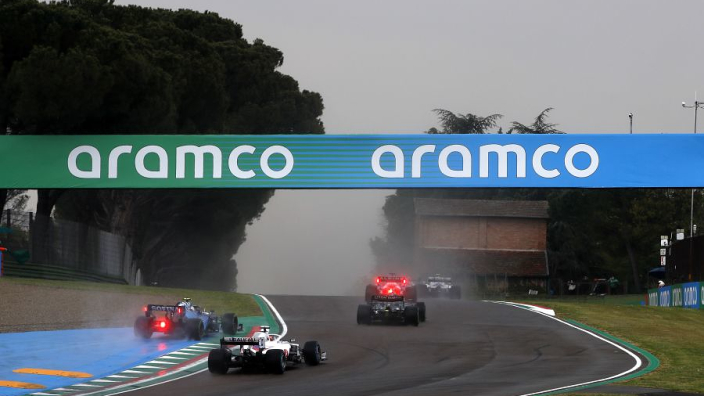 """Latifi was """"trying to survive"""" in 'worst visibility ever' at Imola"""