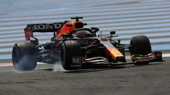 Verstappen coy on Red Bull pace despite topping French FP2