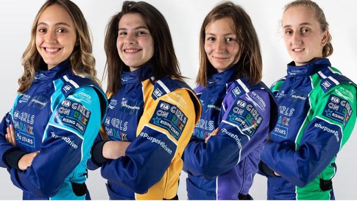 Ferrari maakt vier vrouwelijke kanshebbers op plek in opleidingsprogramma bekend