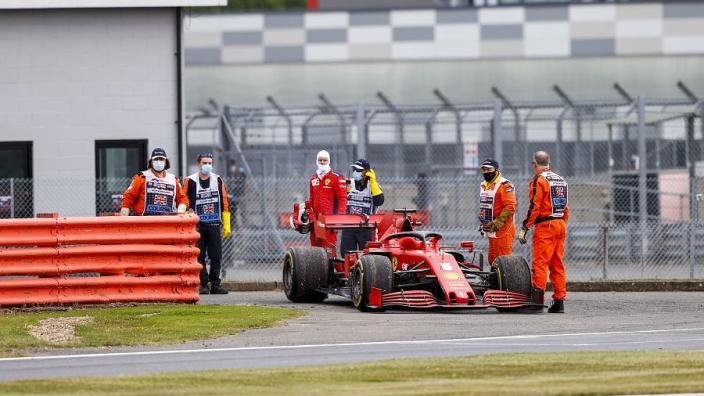 No warning for Vettel ahead of Ferrari engine failure