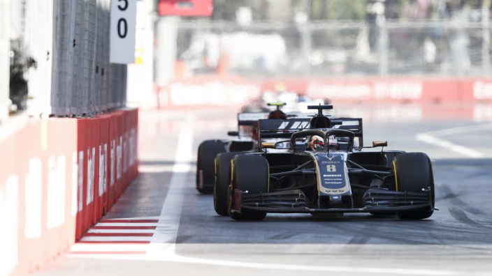 "Romain Grosjean: ""Onze auto is in de basis de beste van het middenveld"""