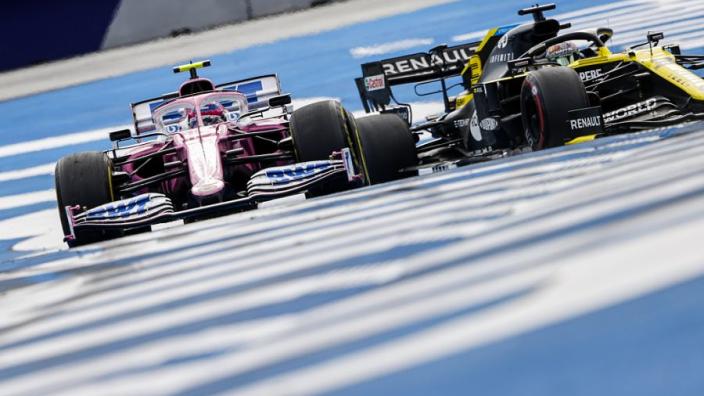 Renault-coureurs delen visie team: 'Racing Point te snel naar onze zin'