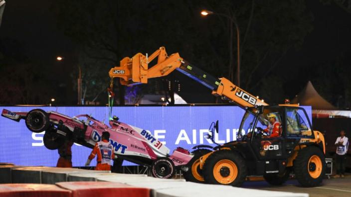 Ocon, Perez crash prompt Force India team orders