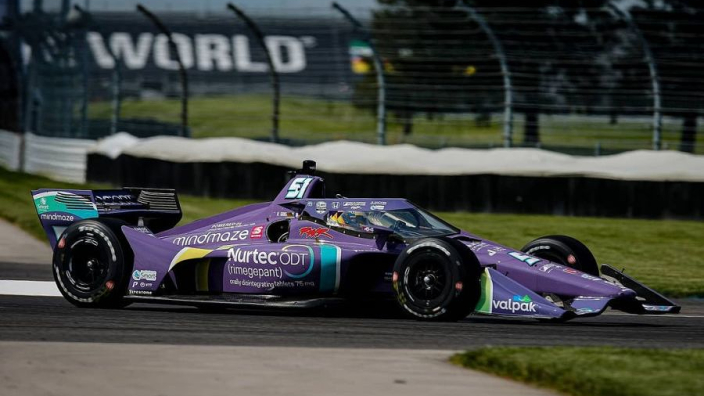 Grosjean impresses to clinch maiden IndyCar podium